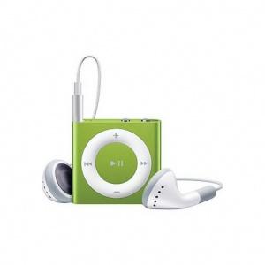 Apple iPod shuffle 4G 2Gb Зеленый  MC750RP/A MP3 плеер