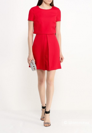 Красное платье befree, размер 38 (М).