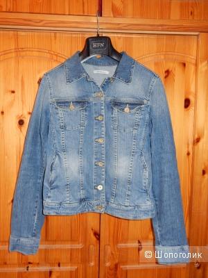Голубая джинсовая куртка MARELLA, размер IT44