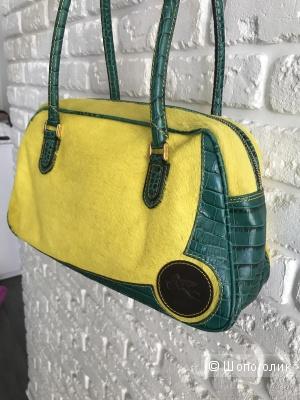 Etro сумочка из меха пони