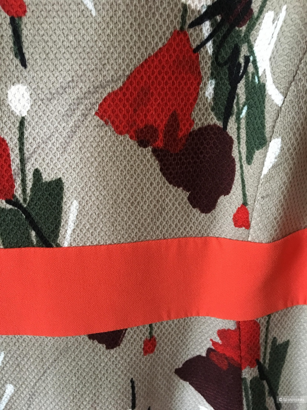 Летнее очаровательное платье MaxMara Studio, размер IT44