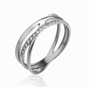Серебряное кольцо Ku&Ku