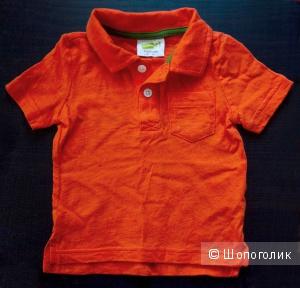 Оранжевое поло Crazy 8