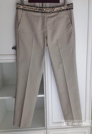 Жаккардовые брюки 7/8 Monocrom, размер 27 на 44.
