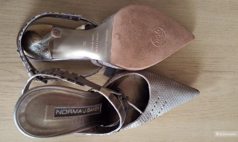 Босоножки Norma J.Baker натуральная кожа,р-р 36 производство Италия.