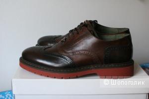 Кожанные ботинки Pierre Darre размер 42