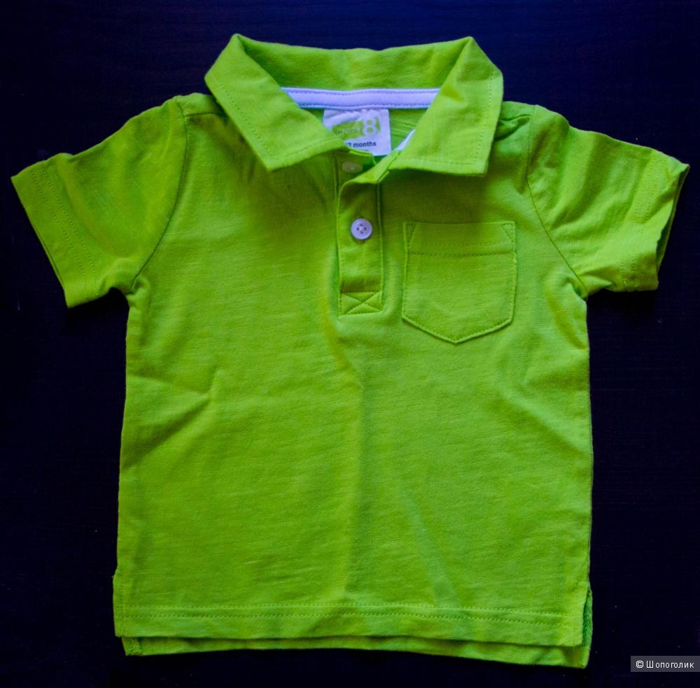 Зеленое поло Crazy 8