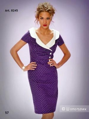 Красивое платье из хлопка 44-46