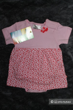 Детское платье Ergee, розовое, 68 размер (4-6мес)