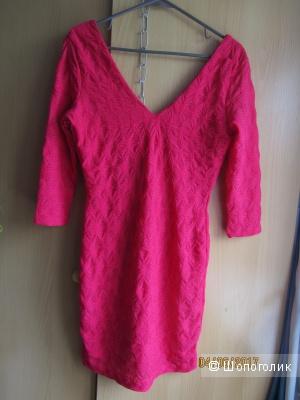 Новое яркое платье H&M р.42-44
