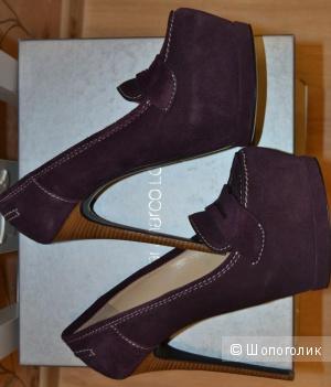 Эффектные туфли Gianmarco Lorenzi (оригинал) - Размер: 38 (стелька 25см)