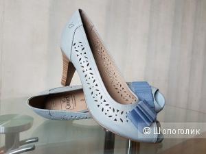Туфли CAPRICE голубого цвета 38 размера