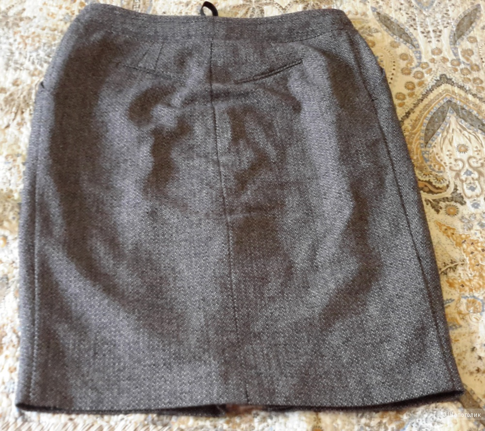 Шерстяная юбка Mango размер 48-50