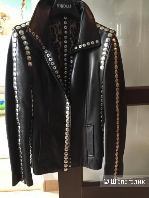 Кожаная куртка Dolce and Gabbana