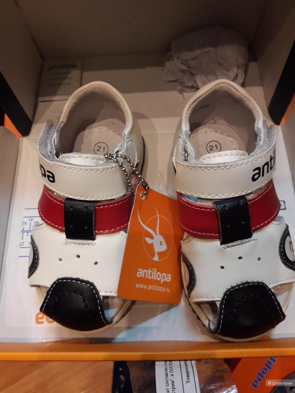 2f8ffc8f3 Кожаные сандали на мальчика Antilopa,р. 21, в магазине Другой ...