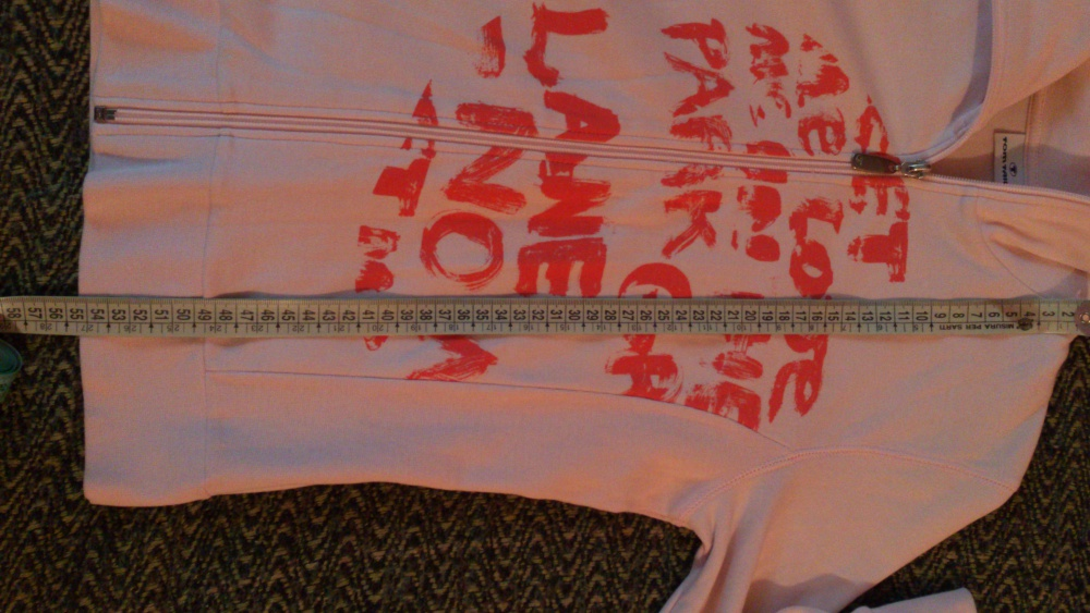 Толстовка на молнии TOM TAILOR, размер XS (нем) = 40-42 (рос), Германия
