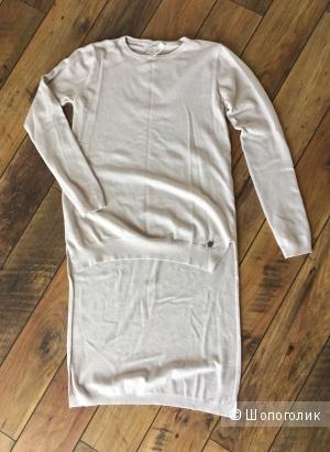 Тёплое итальянское платье/туника S/M