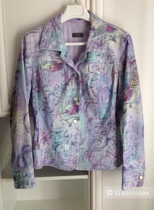 Куртка-жакет с принтом Basler Weekend, размер 48-50.