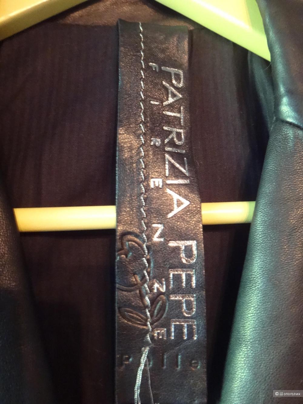 Куртка кожаная женская PATRIZIA PEPE  44-46 размер