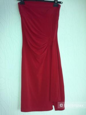 Коктейльное  платье,  Франция, размер XS, S
