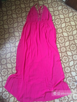 Пляжное макси-платье asos uk 16