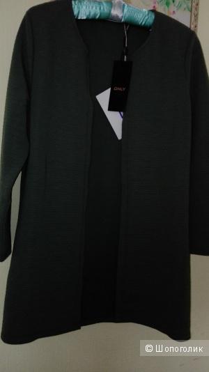 Лёгкий женский летний пиджак без пуговиц Only, M