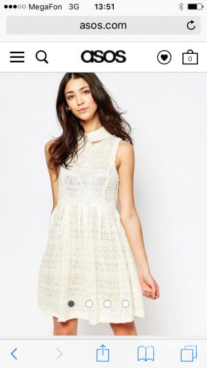 Кружевное платье Yumi, размер S (42/44)