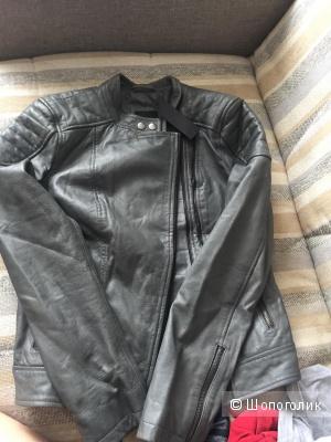 Куртка кожаная barneys original 42-44