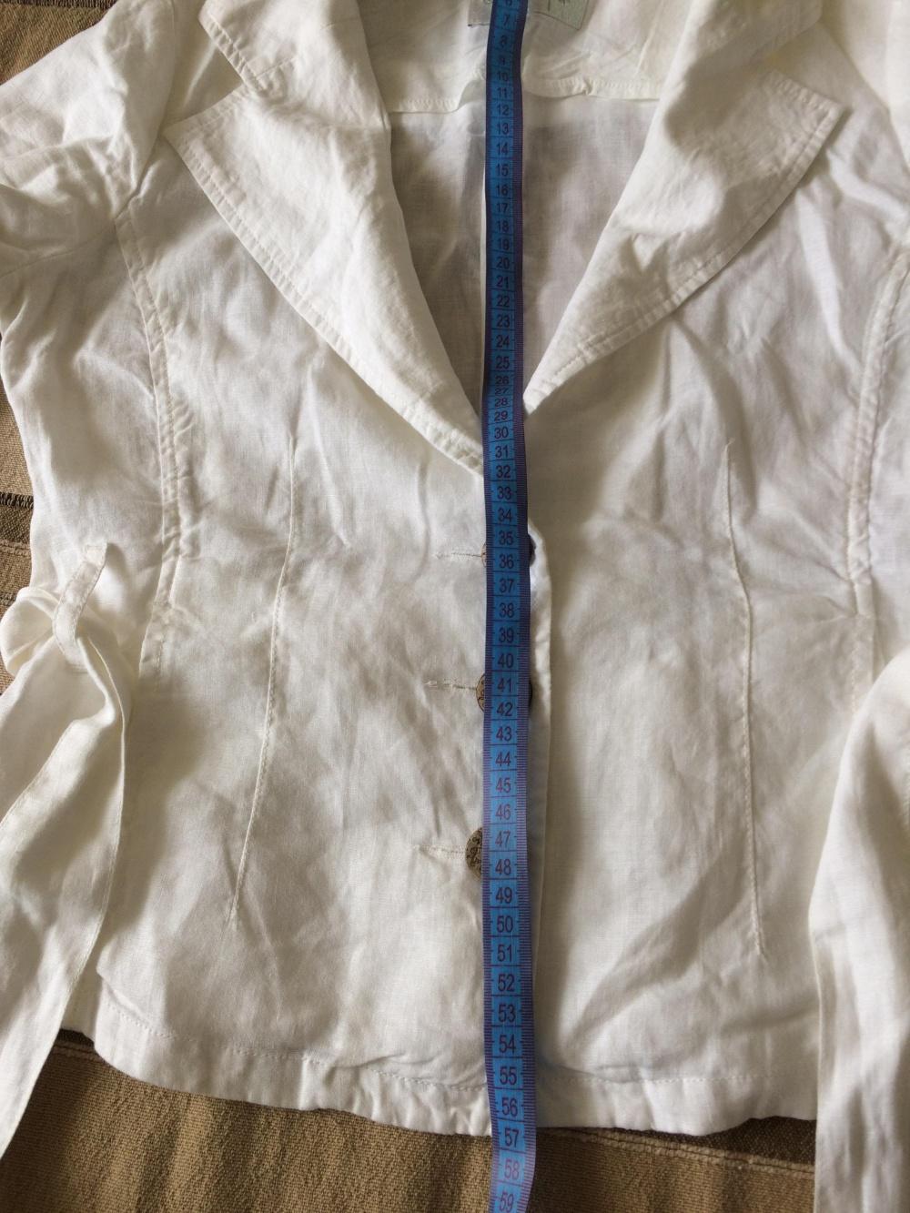 Белый жакет из хлопка House, размер М