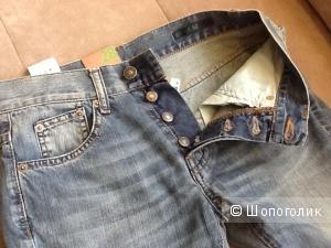 Новые мужские джинсы Benetton 28 размер
