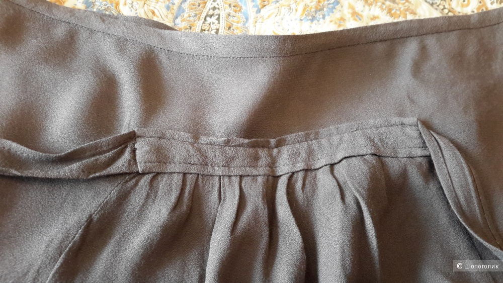 Юбка Zara цвет хаки размер М на 44-46