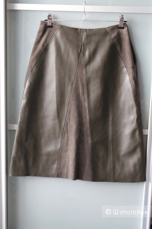 Кожаная юбка Zara xs-s