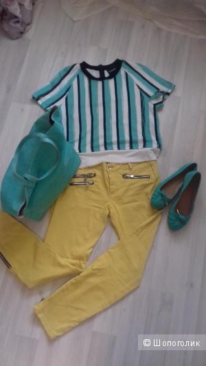 Блуза из коттона Marco Bologna, Италия, размер 42 IT