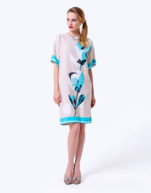 Платье Lo из коллекции Petale размер 44, но большемерит-  на 48