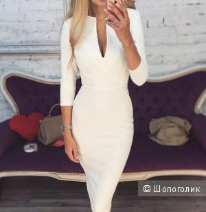 Белое платье, размер М