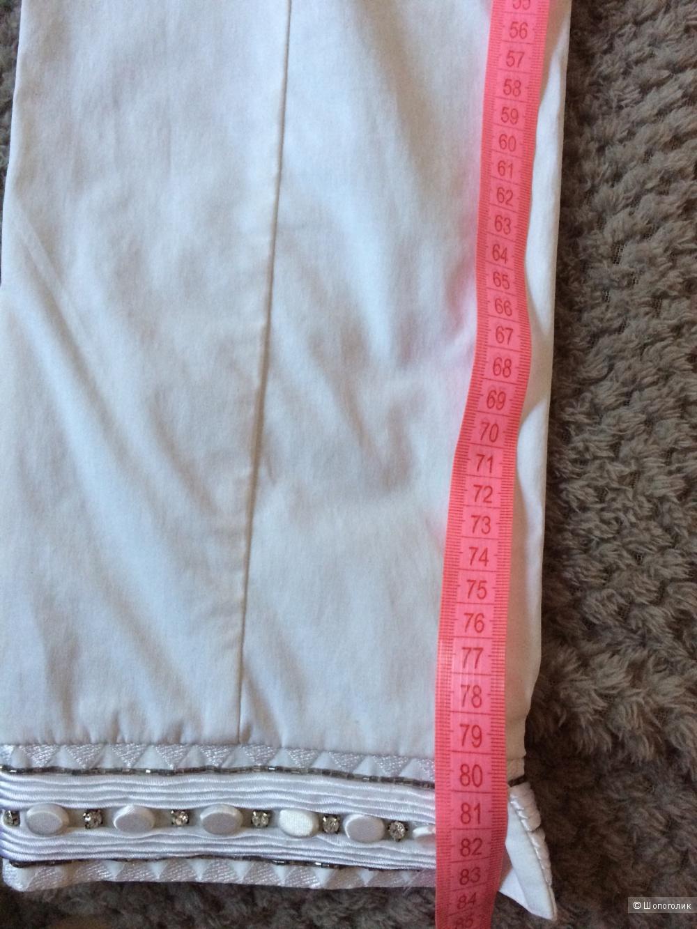 Укороченные брючки roccobarocco 42-44 размера