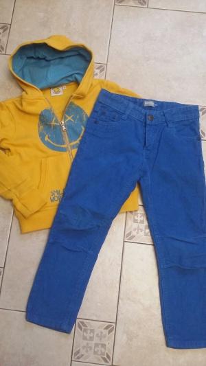 Комплект ,Толстовка и джинсы р.4-5  лет.