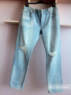Новые джинсы бойфренды Levi's 501, 28-29 размер
