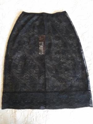 Нижняя кружевная юбка Marks Spencer  UK 8   новая
