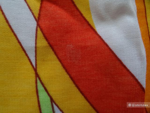 Сарафан в стиле Эмилио Пуччи, размер 44, б/у