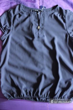 Блузка темно-синяя 40 евр (46-48 RUS)