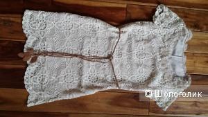 Платье из кружева кроше 42 размер