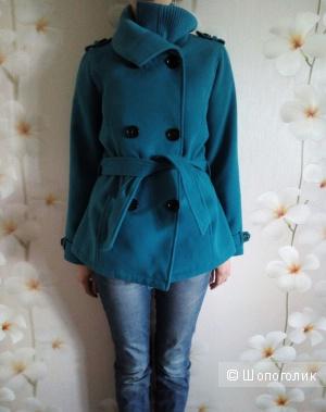 Пальто, куртка, демисезонное полупальто, размер 44