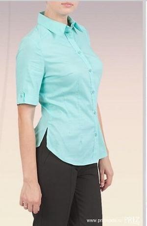 Классическая рубашка, блуза (пр-во Россия). Р-р 42-44.