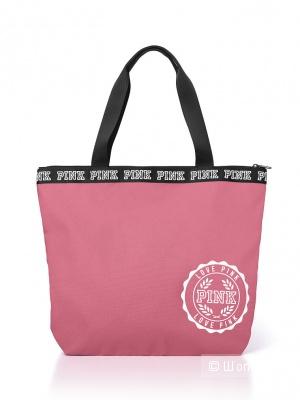 Сумка Victoria's Secret PINK Friday Campus Tote Bag, цвет бегония