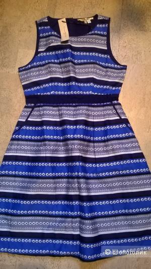 Новое платье 100% хлопок  usa 6/8 (44-46 размер) uk 12