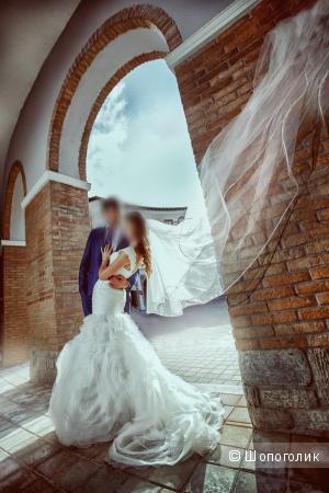 Свадебное платье русалка Mori lee, размер 40-42