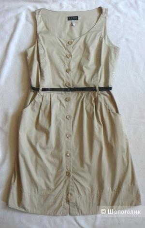 Бежевое платье Armani Jeans р46