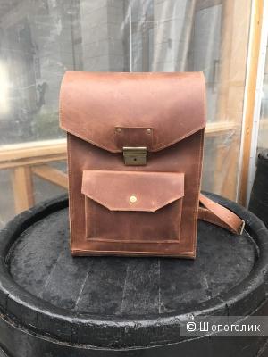 Рюкзак кожаный унисекс