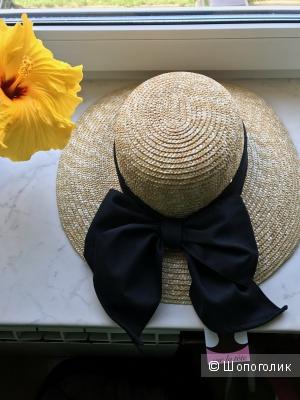 Французская шляпка из натуральной соломки